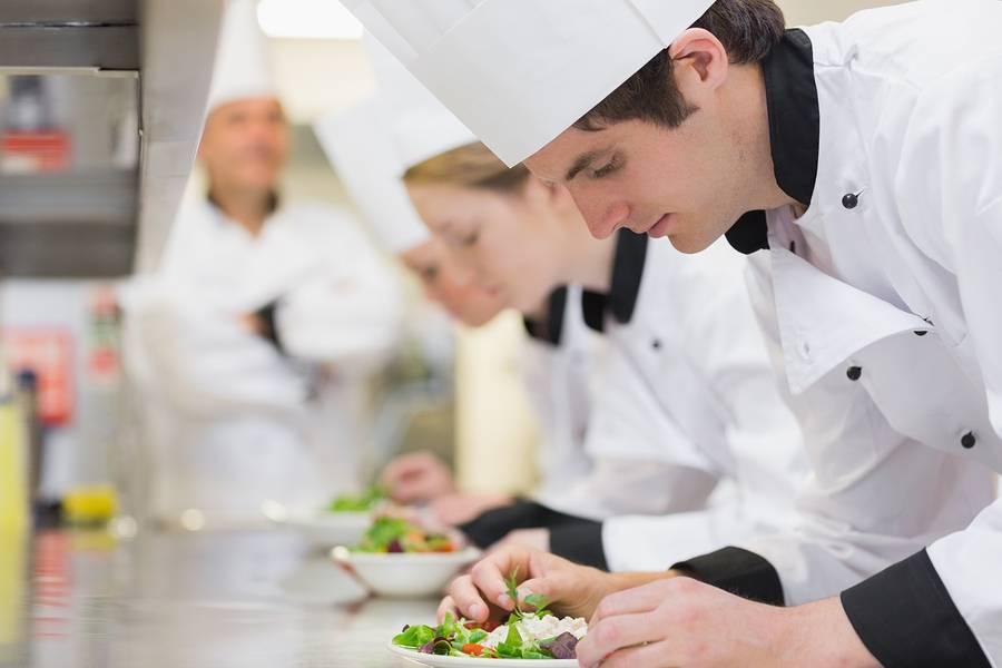 Marine Catering -- The Training Regime